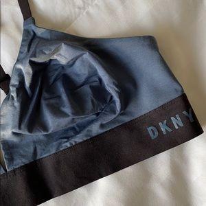 NWOT DKNY Bralette - BLUE/BLACK